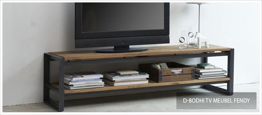 Tv Kast Staal Met Hout.Tv Meubels Staal Kopen Bestel Bij Designonline24