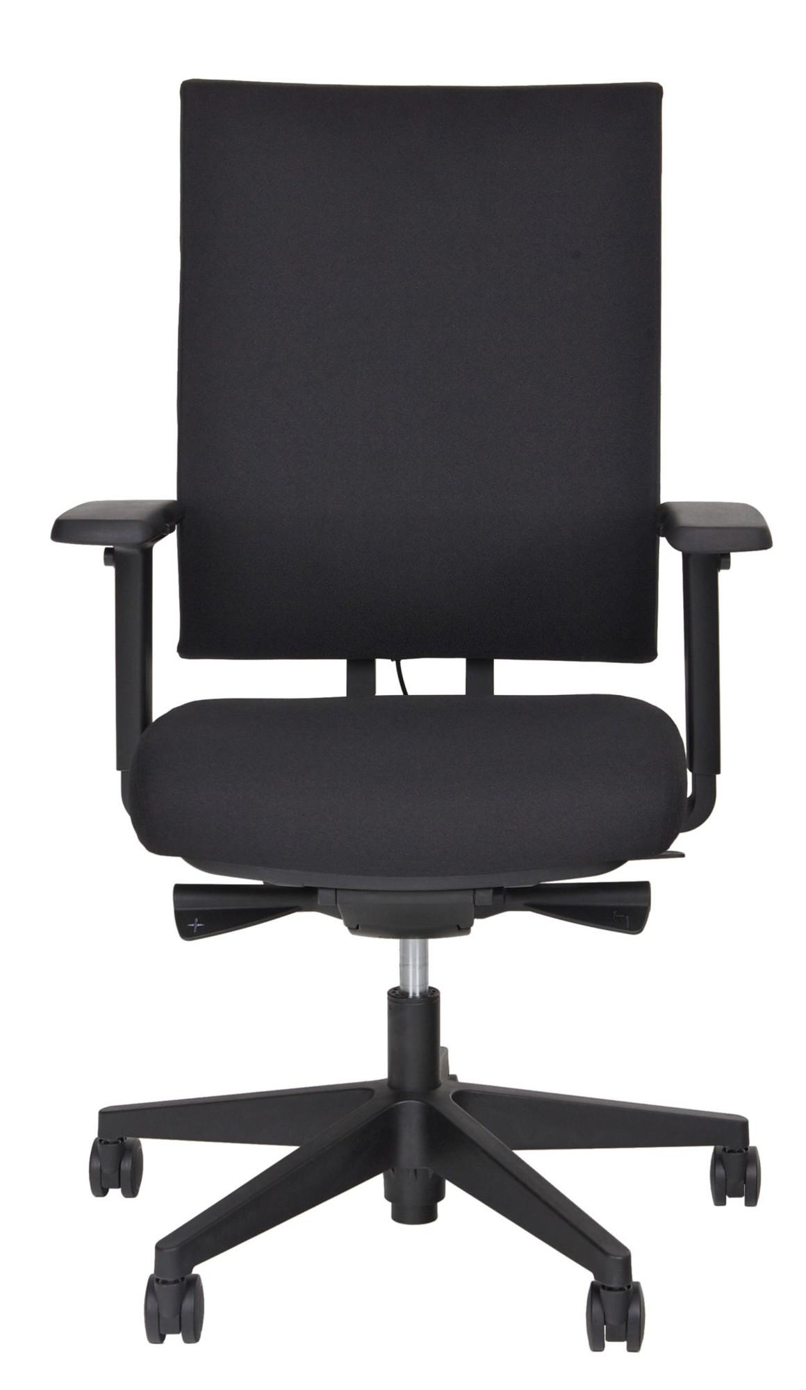 24Designs Bureaustoel Business Atlanta - Zwart