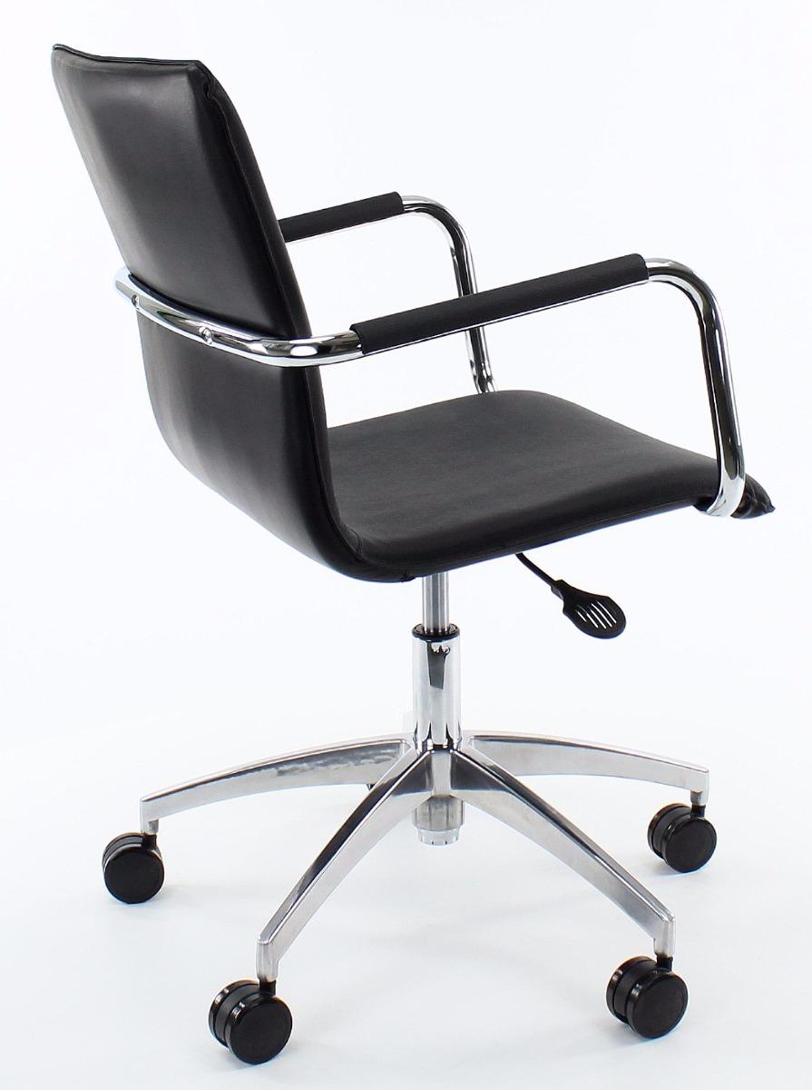 24Designs Bureaustoel Toronto Office - Zwart Leer
