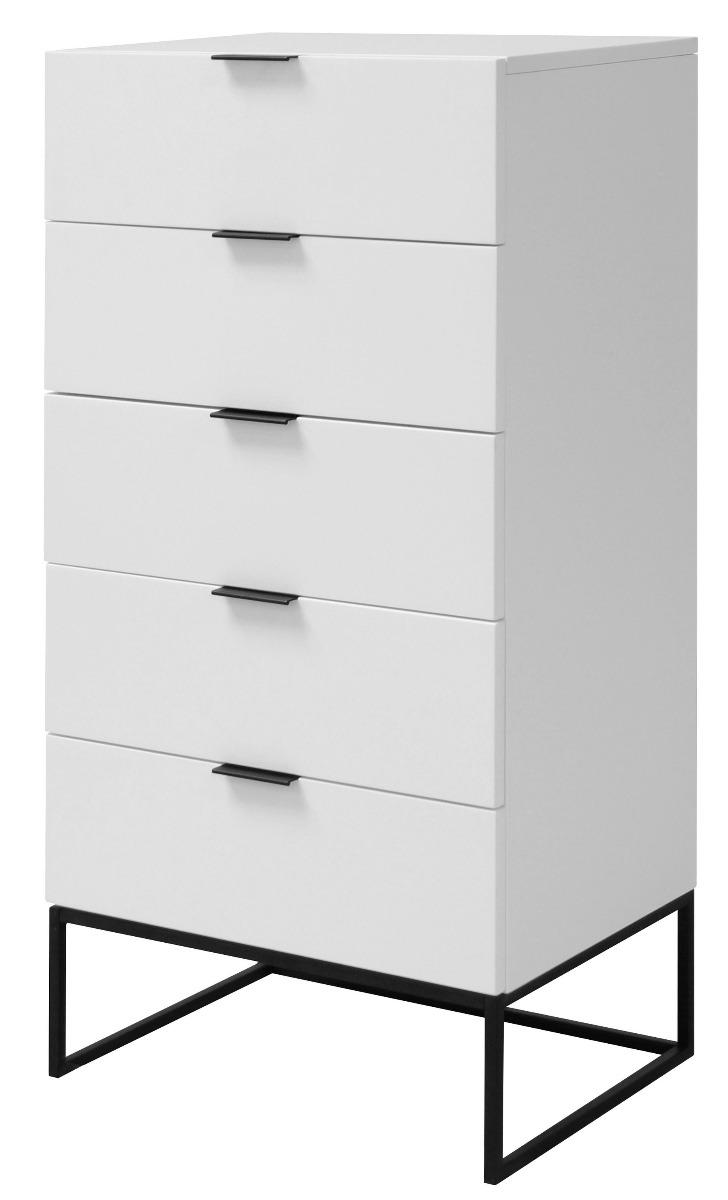 24Designs SALE - Ladekast Onni 5-Laden - 60x45x120 - Wit