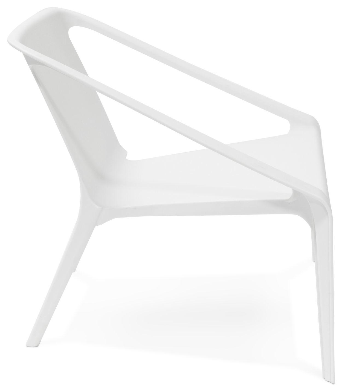 24Designs Tuinstoel Santini - Kunststof Wit