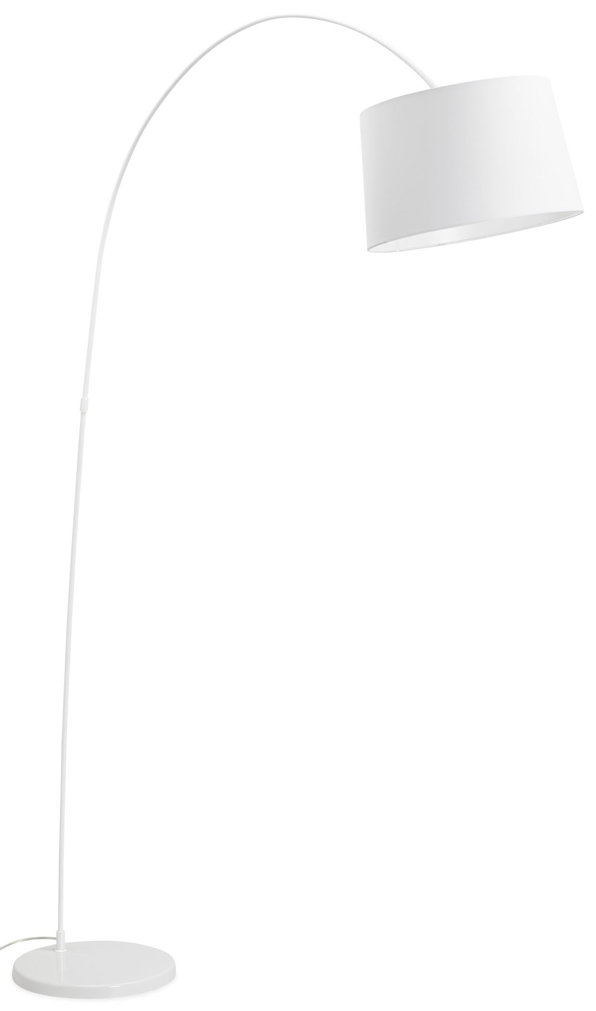 24Designs Booglamp Harmon - Hoogte 205 Cm - Wit