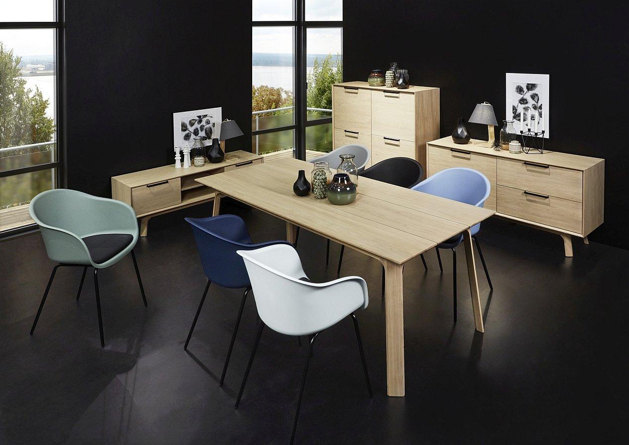 24Designs Haslund Eettafel - 200x95x75 - Eiken