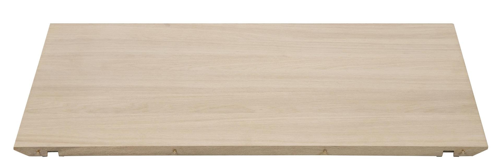 24Designs Set 2 Verlengstukken Tafel Aalborg - L50 X B100 X H2.5 Cm - Eiken White Wash