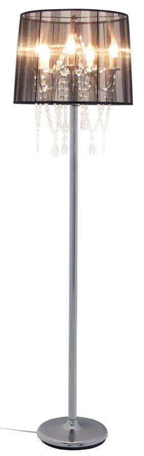 24Designs Vloerlamp Barokke - H164 - Zwart