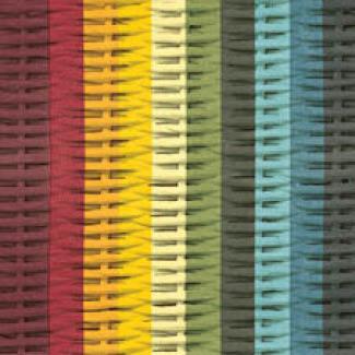 Vincent Sheppard Joe Counter Stool - Lloyd Loom Barkruk - 67 Cm Zithoogte - Zwart Sledeframe Anyray-Colour