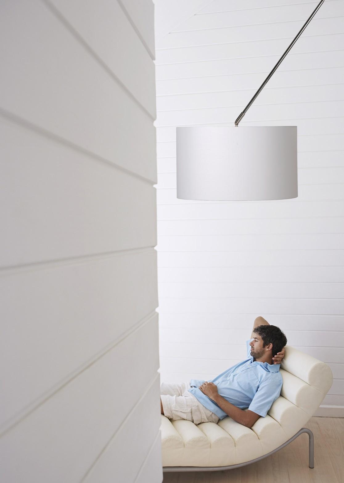 Lucide Hanglamp Eleni -Ø45 Cm - Wit
