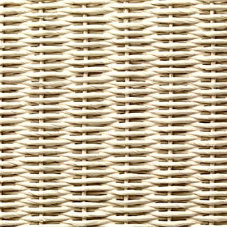 Vincent Sheppard Alex Lloyd Loom Loungestoel - Naturel Eikenhout Broken-White