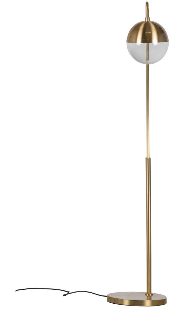 BePureHome Globular Staande Lamp - Metaal - Antique Brass