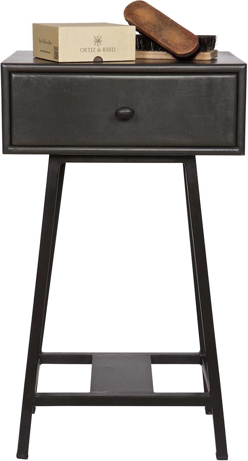 BePureHome Sidetable Skybox - H70 X L45 X B30 Cm - Hout - Zwart
