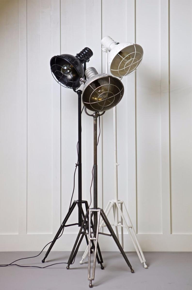 BePureHome Vloerlamp Spotlight - Metaal - Wit