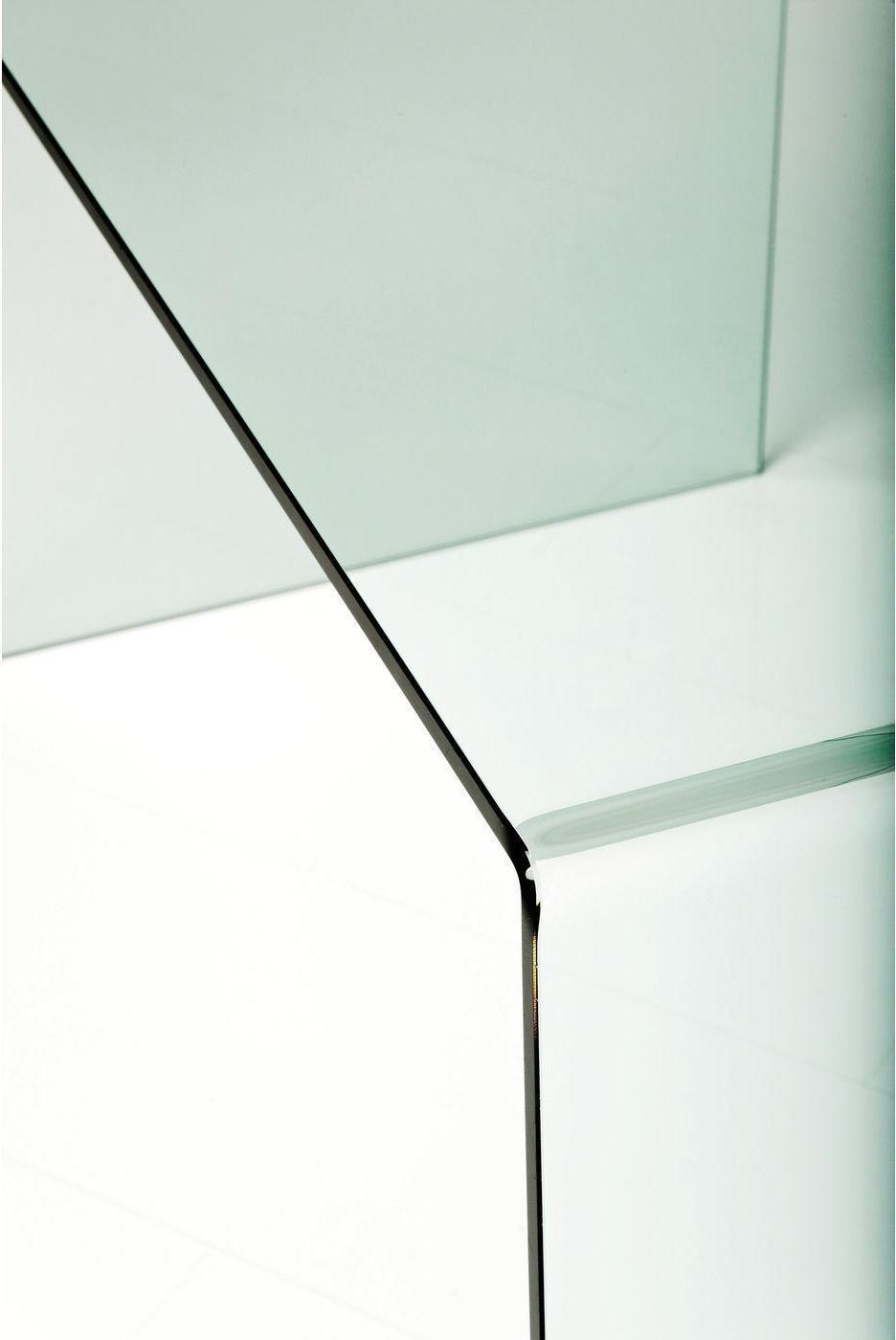 Kare Design SALE - Clear Club Bureau - 125x60x78 - Transparant Glas