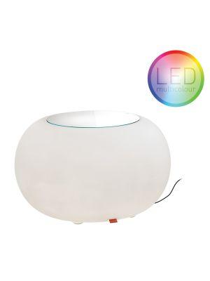 Moree Bubble Outdoor LED Bijzettafel - Ø68 x H41 cm