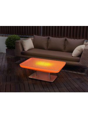 Moree Studio Outdoor LED Salontafel met Accu - L100 x B70 x H36 cm