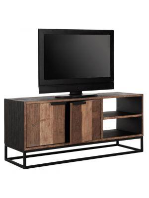 24Designs Cosmo NO.2 TV Meubel - B125 x D40 x H55 cm - Teakhout