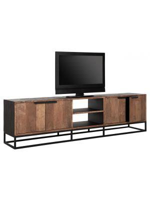 24Designs Cosmo NO.2 TV Meubel – B205 x D40 x H55 cm - Teakhout