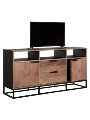 24Designs Cosmo NO.3 TV Meubel - B150 x D40 x H75 cm - Teakhout