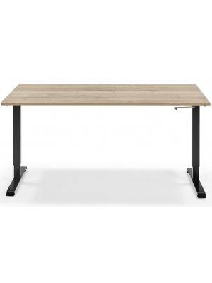 Werkplek Flex - In Hoogte Verstelbaar Zit Sta bureau - Tot 110 cm hoogte - Blad 160 x 80 cm