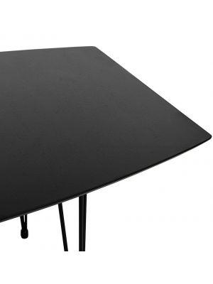 Zwarte Eettafel Uitschuifbaar.Uitschuifbare Eettafels Meubels Laagste Prijsgarantie