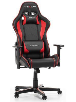 DXRacer Formula-series Game & Bureaustoel - Zwart/Rood PU