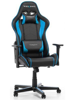 DXRacer Formula-series Game & Bureaustoel - Zwart/Blauw PU