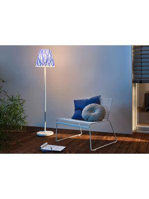 Moree SWAP Buitenlamp - Ø35 cm x H150 cm - Wit/Blauw