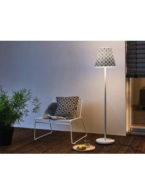 Moree SWAP Buitenlamp - Ø35 cm x H150 cm - Wit/Grijs