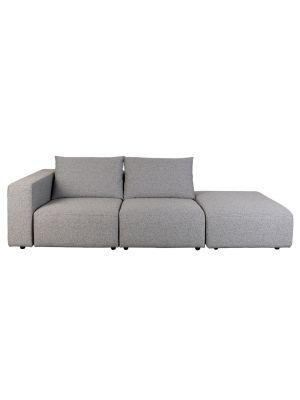 Zuiver Breeze 3-zits Outdoor Sofa - Armleuning Links - Grijs