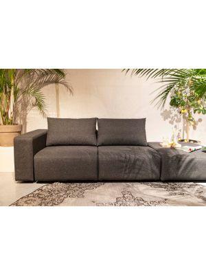 Zuiver Breeze Outdoor Sofa Element Links - B118 x D118 x H86 - Antraciet