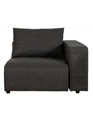 Zuiver Breeze Outdoor Sofa Element Rechts - B118 x D118 x H86 - Antraciet