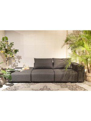 Zuiver Breeze 3-zits Outdoor Sofa - Armleuning Rechts - Antraciet