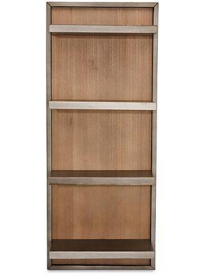 24Designs Mallorca Wandkast - B45 x D26 x H110 cm - Massief Acaciahout