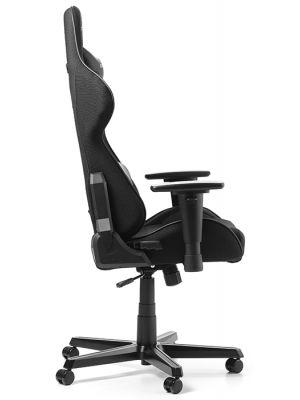 DXRacer Formula-series Game & Bureaustoel - Zwarte Stof - Zwart PU
