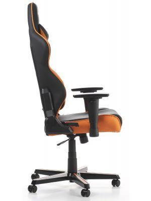 DXRacer Racing-series Game & Bureaustoel - Zwart/Oranje PU