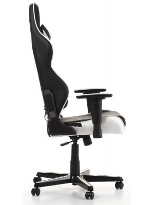 DXRacer Racing-series Game & Bureaustoel - Zwart/Wit PU