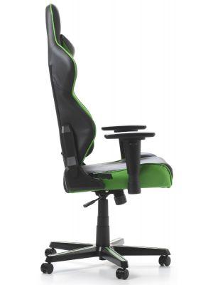 DXRacer Racing-series Game & Bureaustoel - Zwart/Groen PU