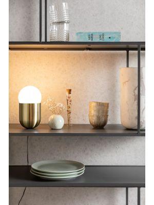 Zuiver Gio Tafellamp - Ø9 x H17,5 cm - Goud