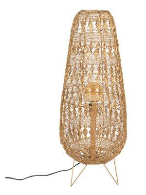 Dutchbone Filo Lamp L - Ø32 x H80 cm - Goud