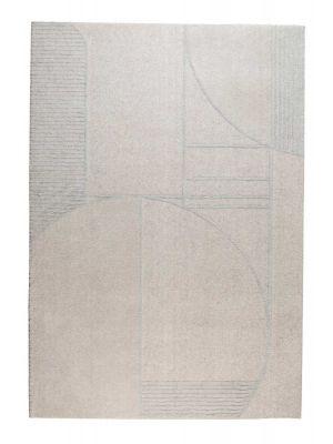 Zuiver Bliss Vloerkleed Rechthoek - L345 x B240 cm - Stof Grijs/Blauw
