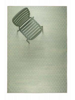 Zuiver Crossley Buitenkleed - Outdoor Vloerkleed - B170 x L240 cm - Stof - Groen