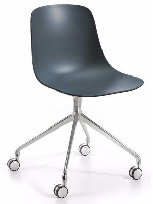 Infiniti Bureaustoel Pure Loop Binuance - Antraciet/Zwart