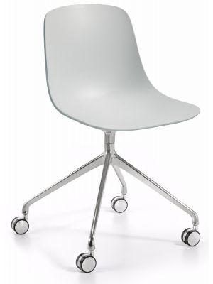 Infiniti Bureaustoel Pure Loop Binuance -  Lichtgrijs/Grijs