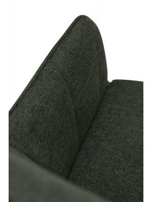 Dan-Form Embrace Stoel - Stof Groen - Zwart Metalen Poten