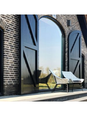 Hartman Delphine Wicker Loungestoel – Diamond – Aluminium Onderstel
