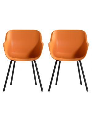 Hartman Sophie Rondo Elegance Chair - Set van 2 Tuinstoelen - Indian Orange