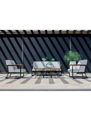 Hartman Studio 54 Lounge Set - Lichtgrijs Sunbrella®