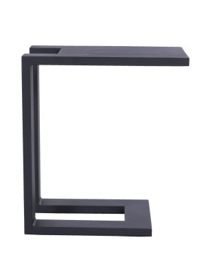 Hartman Tim Outdoor Bijzettafel - L32 x B48 x H53 cm - Carbon Black Frame