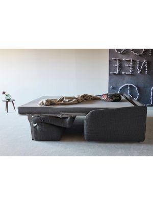 Innovation Slaapbank Eivor 140 SPRING - Kenya Dark Grey 577