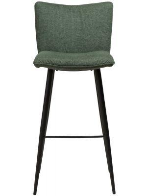 Dan-Form Join Barkruk - Set van 2 - Zithoogte 77 cm - Stof Groen
