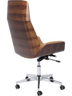 Cognac Leren Bureaustoel.Design Stoelen Groot Assortiment Designonline24